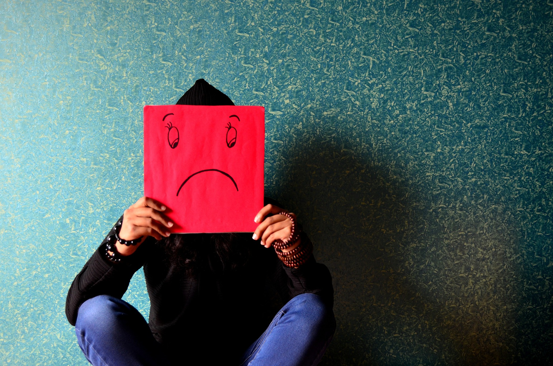 ストレスを抱える人間